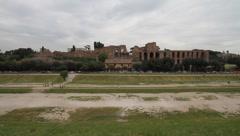 Italy - Rome - Circo Massimo/ Palatin Stock Footage