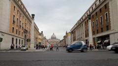 Italy - Rome - Vatican - stock footage