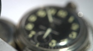 1080P Antique Pocket Watch and Clock Timepieces Dolly Shot Stock Footage