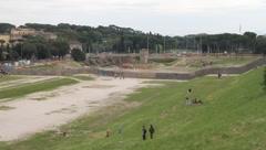 Rome - Circo Massimo Stock Footage