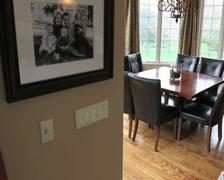 Luxury Home Breakfast Nook Stock Footage