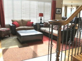 Luxury Home Family Room Stock Footage