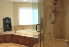 Luxury Home Bathroom - stock footage