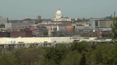 St Paul MN State Capital Day - stock footage