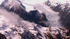 New Zealand Mount Glacier wide - Full-res Stock Footage
