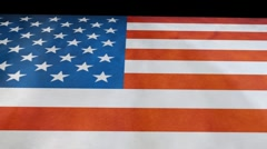 American Flag Animation outward Stock Footage