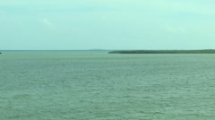View of the Bridge to Key West from Key Largo Rooftop ( HD ) Stock Footage