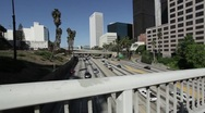 Stock Video Footage of LA Freeway 08 HD