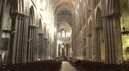 Stock Video Footage of Bordeaux Cathedral