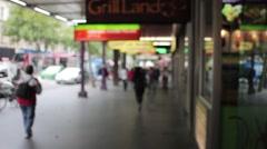 Swanston Street, Melbourne 2K Stock Footage
