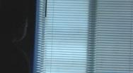 Little Boy Looking Out Window Stock Footage