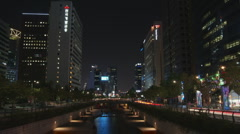 Seoul River City Hall - stock footage
