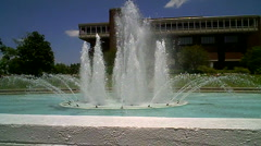 Fountain - stock footage