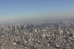 NYC Aerial 2 - stock footage