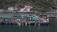 Stock Video Footage of Chinese Fishing Village
