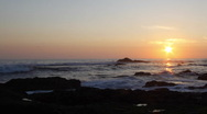 Stock Video Footage of Sunset Time Lapse, Atlantic Coast, Portugal