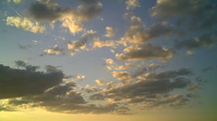 Clouds 1 - stock footage