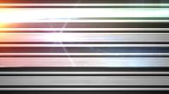 HDTV SET Metal mesh banner 2X Stock Footage