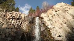 Spring Waterfall 5472 29.97p Stock Footage