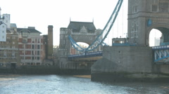 Tower Bridge 1 50i Stock Footage