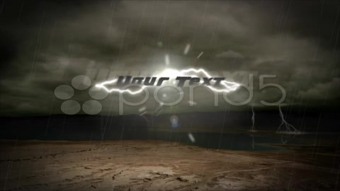 After Effects Project - Pond5 Lightning Text 5295102