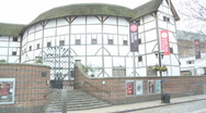 Globe Theatre 50i Stock Footage