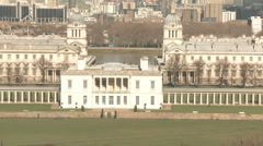 Greenwich Observatory 50i Stock Footage