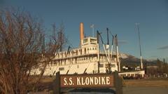 S.S. Klondike Whitehorse, Yukon, Canada 1 Stock Footage