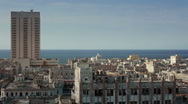 Panoramic view of Havana, Cuba Stock Footage