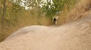 Mountain Bike Rock Hop Stock Footage