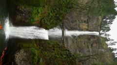 Multnomah Falls Full Vertical 4558 Arkistovideo