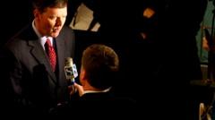 Bob Vander Plaats - interview Stock Footage