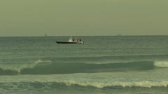 Fishing Boat in the Ocean ( HD ) Stock Footage