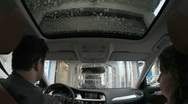 Stock Video Footage of Car Wash Timelapse