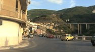 Stock Video Footage of Italy Calabria Scilla street