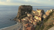 Stock Video Footage of Italy Calabria Scilla below