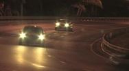 Florida Highway at Night ( HD ) Stock Footage