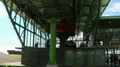 Cable Car station 20110422 123740 Stock Footage