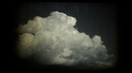Old clouds timelapse Stock Footage