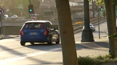 Los Angeles Downtown Streets ( HD ) Stock Footage