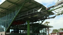 Cable Car station 20110422 124313 Stock Footage
