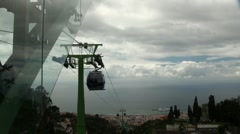 Cable Car to the ocean 20110422 132503 Stock Footage