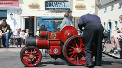 Small showman engine wide 11 Stock Footage