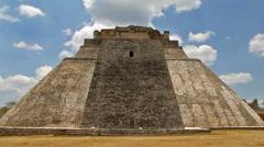Aztec Pyramid - stock footage