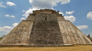 Stock Video Footage of Aztec Pyramid