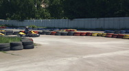 Stock Video Footage of karting, boys 002