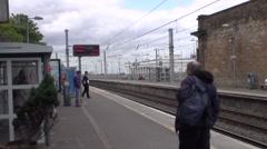 Dart Train A Stock Footage