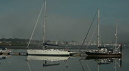 Stock Video Footage of boats in the fog 23