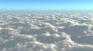 Stock Video Footage of above the clouds