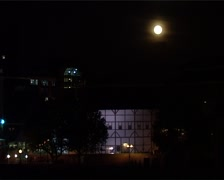 The Globe Theatre by Full Moon, London England GFSD Stock Footage